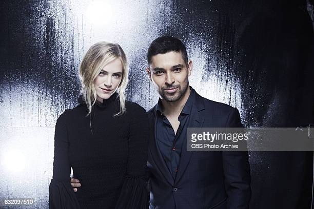 Emily Wickersham Wilmer Valderrama visits the CBS Photo Booth during the PEOPLES CHOICE AWARDS the only major awards show where fans determine the...