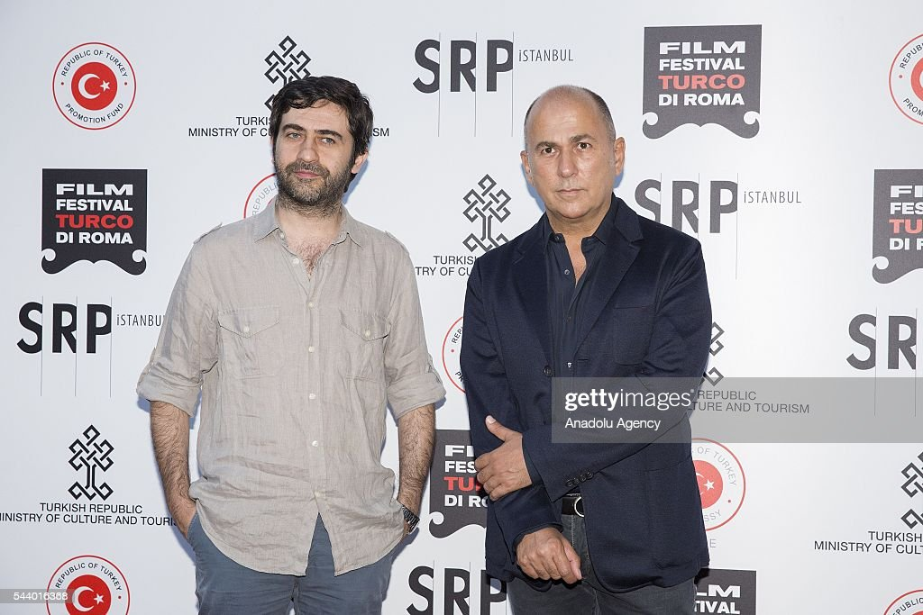 Emin Alper and Ferzan Ozpetek attend Opening Ceremony of the V. Film Festival Turco at House of Cinema-Villa Borghese on June , 30, 2016 in Rome, Italy.