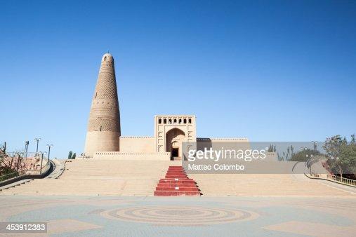 Emin minaret in Turpan, Xinjiang, China