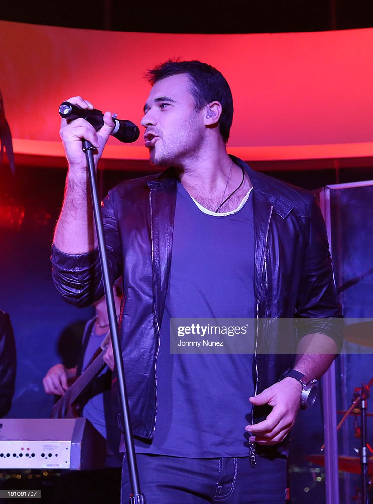 Emin performs at the Femdouble Producers Choice Honorees Gala at Bel Air Ship Mansion on February 8, 2013 in Belair, California.
