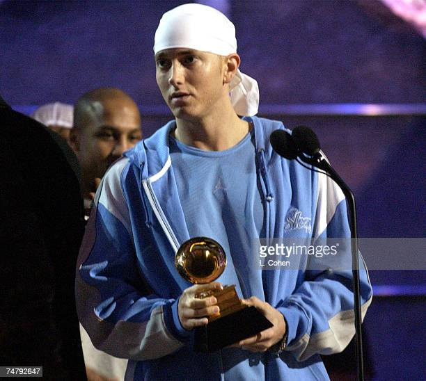 Eminem at the Madison Square Garden in New York New York