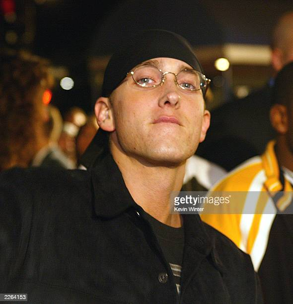 Eminem at the premiere of '8 Mile' at the Village Theatre in Westwood Ca Wednesday Nov 6 2002 Photo by Kevin Winter/ImageDirect