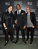 Eminem Dr Dre and Jimmy Iovine attend WSJ Magazine 2014 Innovator Awards at Museum of Modern Art on November 5 2014 in New York City