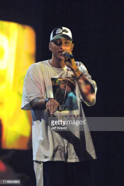 Eminem during 2005 MTV Movie Awards Show at Shrine Auditorium in Los Angeles California United States