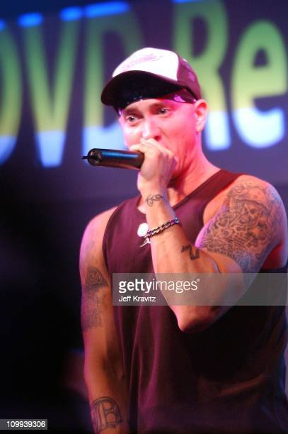 Eminem during Universal 8 Mile DVD Release Party at Saint Andrew's Hall in Detroit MI United States