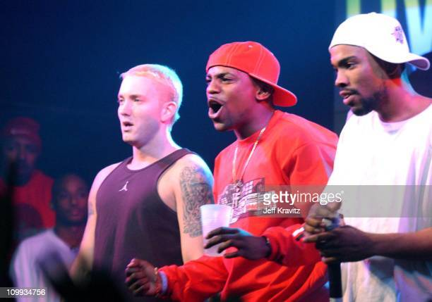 Eminem Mekhi Phifer and Deshaun Holton AKA Proof of D12