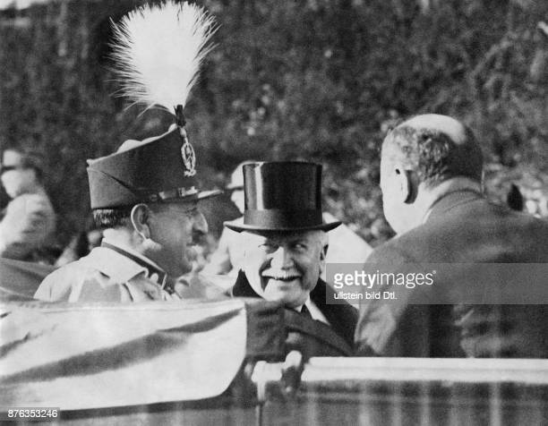 Emir King of Afghanistan Amanullah Khan´s travel to Europe here France Amanullah Khan and the president of France Gaston Doumergue make a tour in...