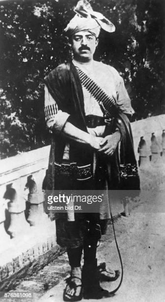 Emir King of Afghanistan Portrait in a national costume 1928 Vintage property of ullstein bild