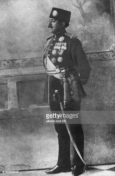 Emir King of Afghanistan Portrait uniformed 1924 Vintage property of ullstein bild
