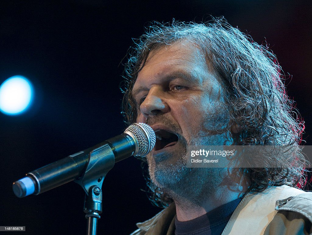 <a gi-track='captionPersonalityLinkClicked' href=/galleries/search?phrase=Emir+Kusturica&family=editorial&specificpeople=210555 ng-click='$event.stopPropagation()'>Emir Kusturica</a> and his band The no smoking orchestra perform on stage at Nice Jazz Festival on July 11, 2012 in Nice, France.