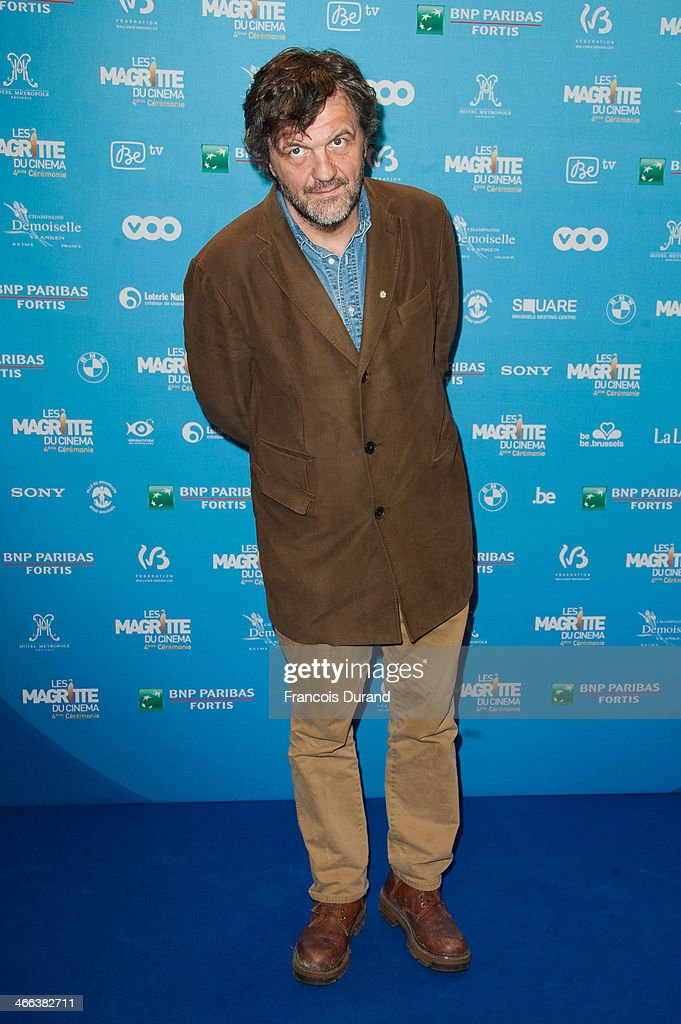 <a gi-track='captionPersonalityLinkClicked' href=/galleries/search?phrase=Emir+Kusturica&family=editorial&specificpeople=210555 ng-click='$event.stopPropagation()'>Emir Kusturica</a> attends 'Les Magritte Du Cinema 2014' at Square Brussels on February 1, 2014 in Brussel, Belgium.