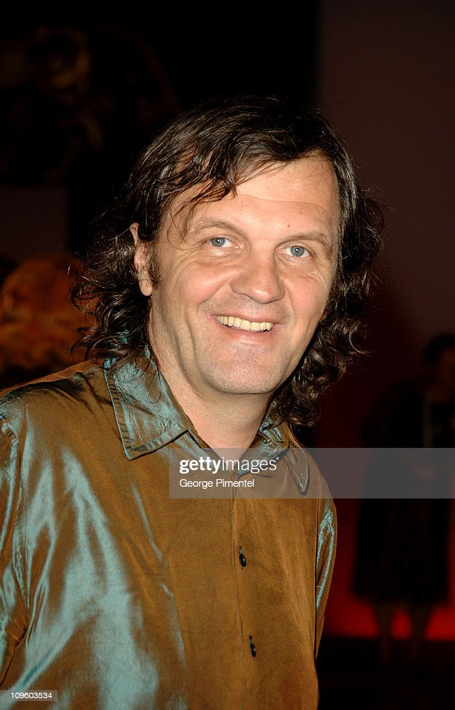 <a gi-track='captionPersonalityLinkClicked' href=/galleries/search?phrase=Emir+Kusturica&family=editorial&specificpeople=210555 ng-click='$event.stopPropagation()'>Emir Kusturica</a> during 2005 Venice Film Festival - 'All The Invisible Children' Premiere at Palazzo del Cinema in Venice Lido, Italy.