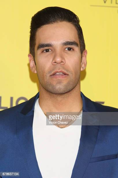 Emir Pabon attends the 'How To Be A Latin Lover' Mexico City premiere at Teatro Metropolitan on May 3 2017 in Mexico City Mexico