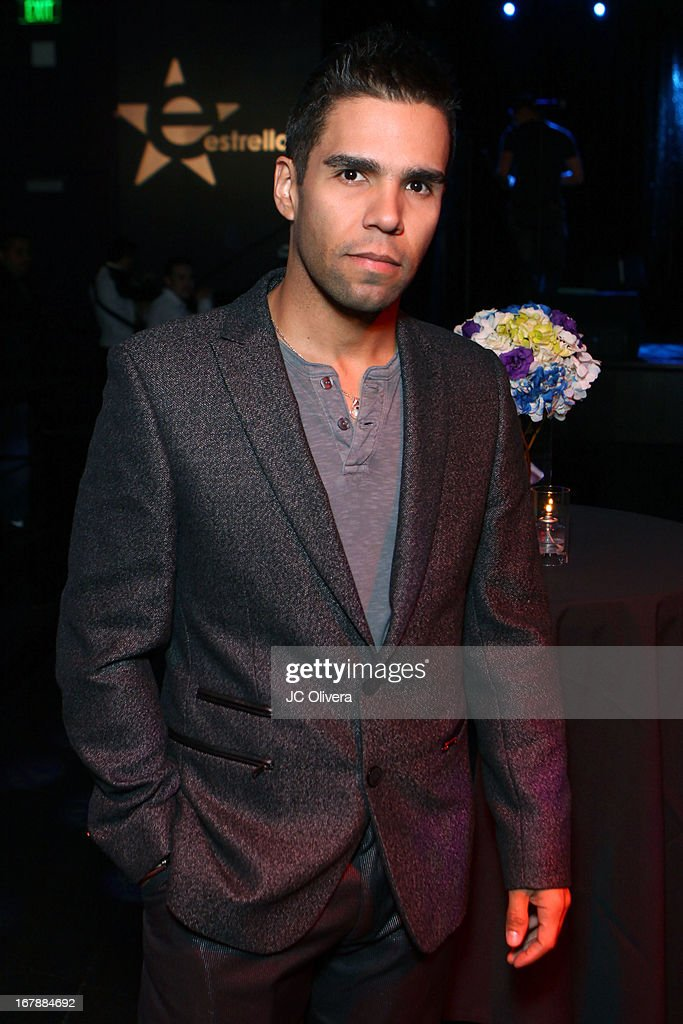 Emir Pavon attends the launch party for Estrella TV news anchor: Myrka Dellanos at The Conga Room at L.A. Live on May 1, 2013 in Los Angeles, California.