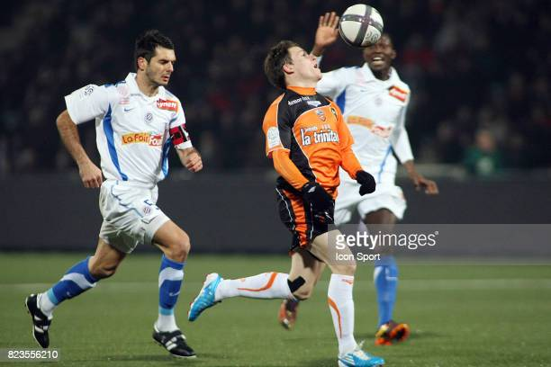 Emir SPAHIC / Kevin GAMEIRO Lorient / Montpellier 19eme journee de Ligue 1
