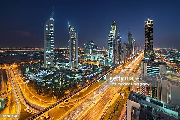 Emirates Tower and Sheikh Zayed Road