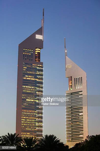 Emirates Towers in Sheikh Zayed Road Area