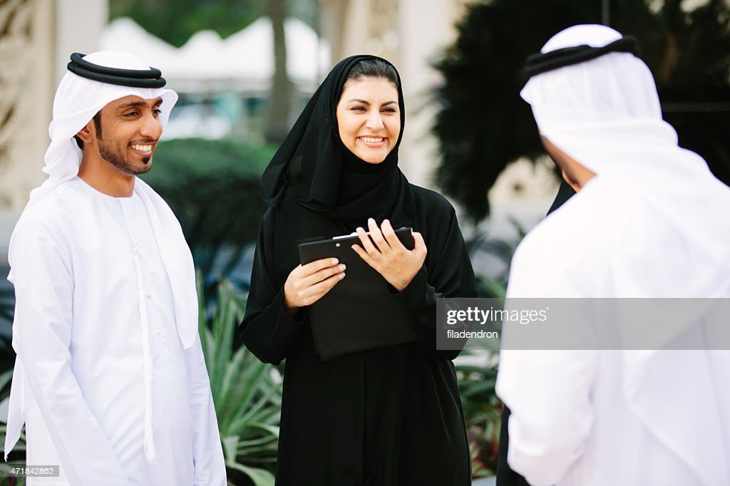 Emirati business conversation