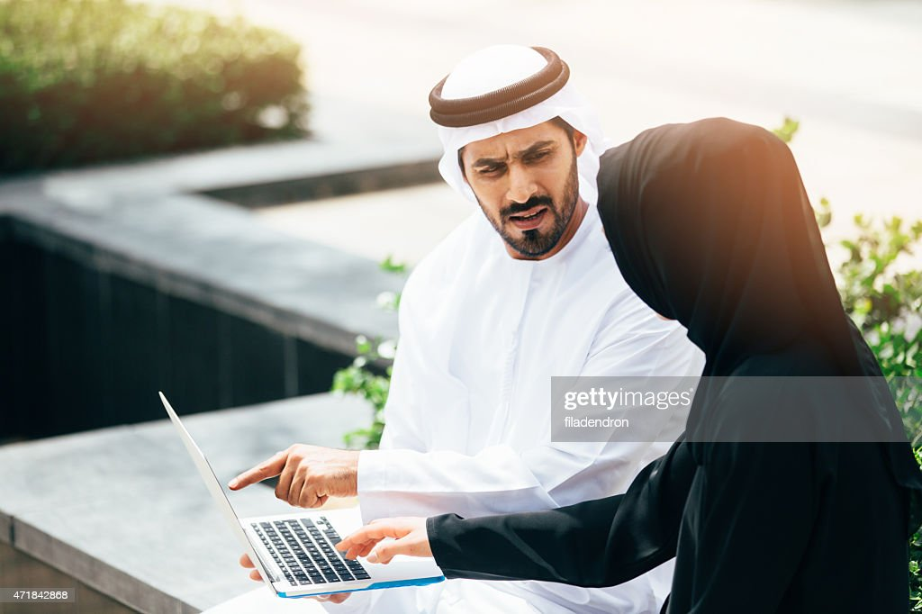 Emirati doing business