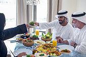 Emirati family lunch