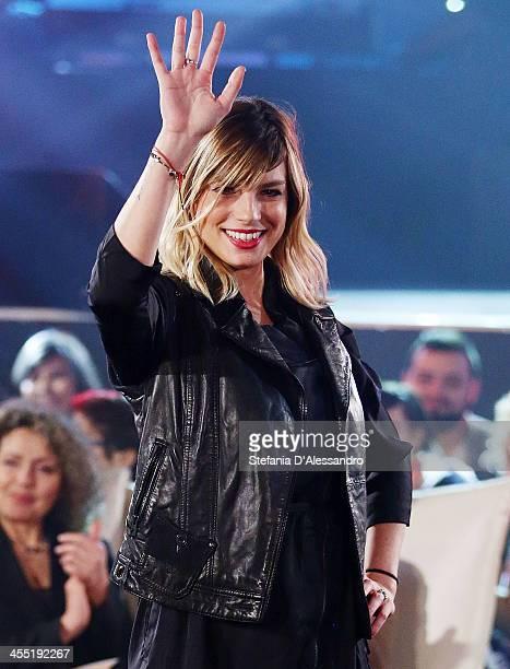 Emma attends RadioItaliaLive Tv Show on December 11 2013 in Milan Italy