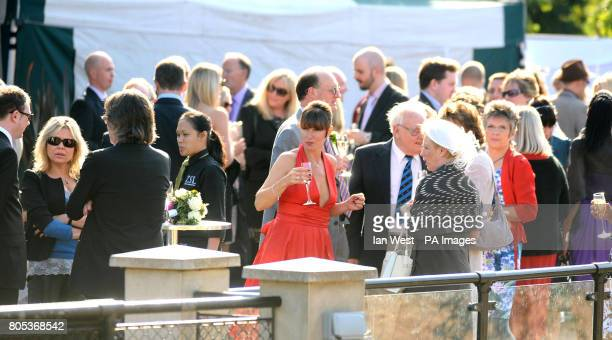 Emma Beal at the Mappin Pavilion at London Zoo where she married Ken Livingstone