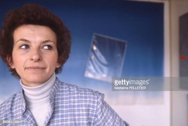 Emma Bonino femme politique italienne à Paris en 1980 France