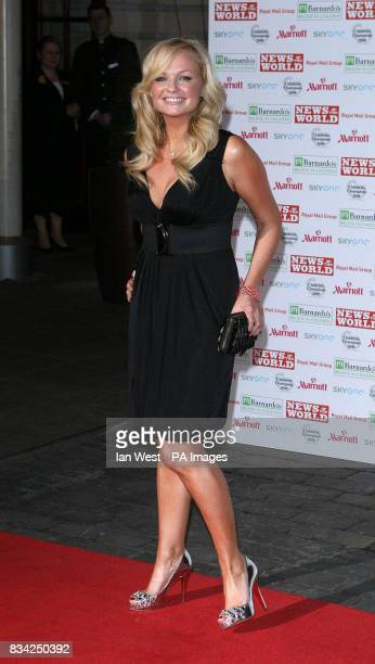 Emma Bunton arrives for the 2008 Childrens Champions Awards at the Renaissance Chancery Court Hotel in London