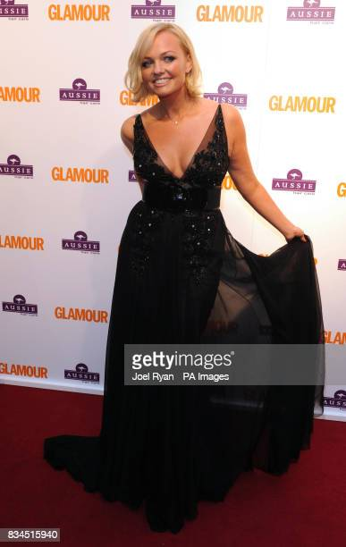 Emma Bunton arrives for the 2008 Glamour Women of the Year Awards at Berkeley Square Gardens in central London