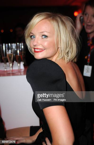 Emma Bunton at the Vodafone Live Music Awards 2008 at Brixton Academy Brixton London