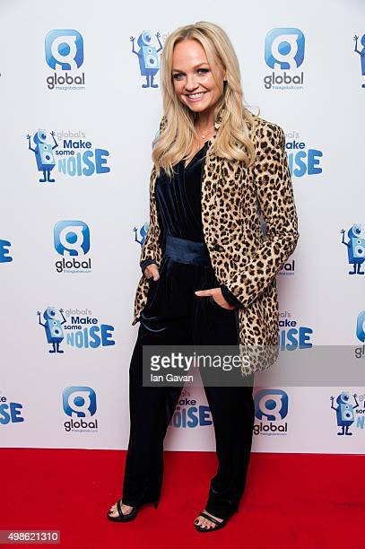 Emma Bunton attends Global's Make Some Noise Gala at Supernova on November 24 2015 in London England