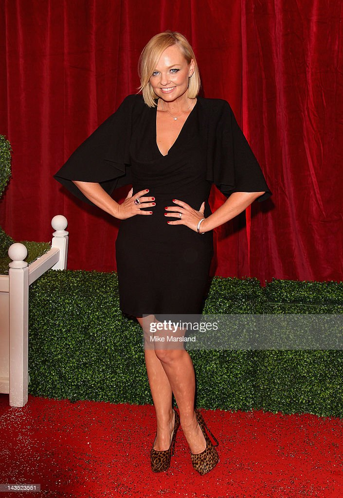 Emma Bunton attends the British Soap Awards at The London Television Centre on April 28, 2012 in London, England.
