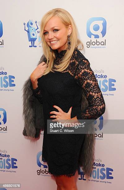 Emma Bunton attends the Global Make Some Noise event at Supernova on November 20 2014 in London England