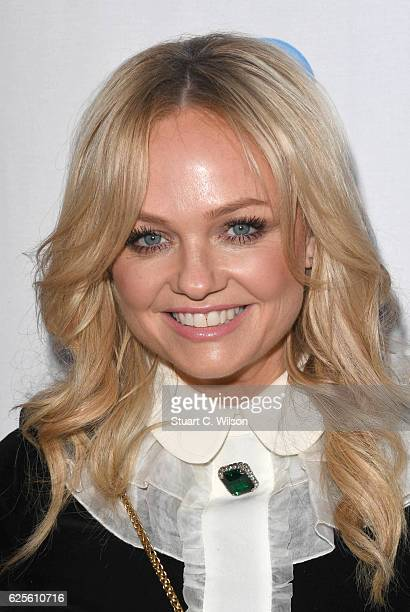 Emma Bunton attends the Global's Make Some Noise Night Gala at Supernova on November 24 2016 in London England