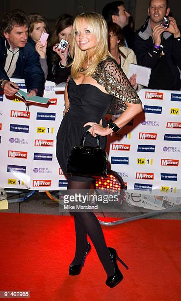 Emma Bunton attends the Pride Of Britain Awards at the Grosvenor House on October 5 2009 in London England