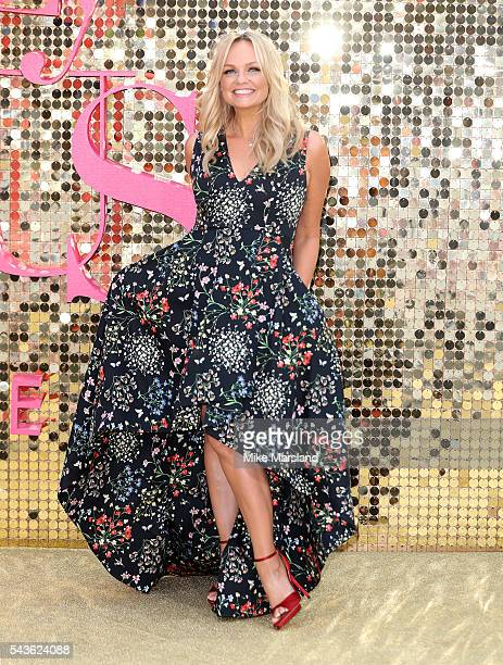 Emma Bunton attends the World Premiere of 'Absolutely Fabulous The Movie' at Odeon Leicester Square on June 29 2016 in London England