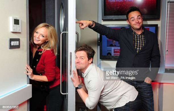 Emma Bunton is joined by Ant and Dec for her 'Celebrate Saturday' radio show on Heart FM to be broadcast on Saturday 24th May from 5pm to 7pm