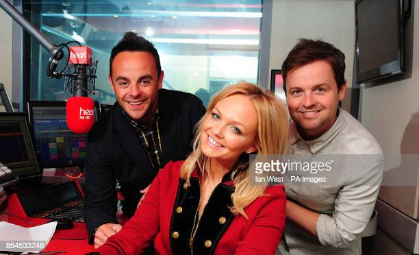 Emma Bunton is joined by Ant and Dec for her 'Celebrate Saturday' radio show on Heart FM The show will be broadcast on Saturday 24th May from 5pm to...