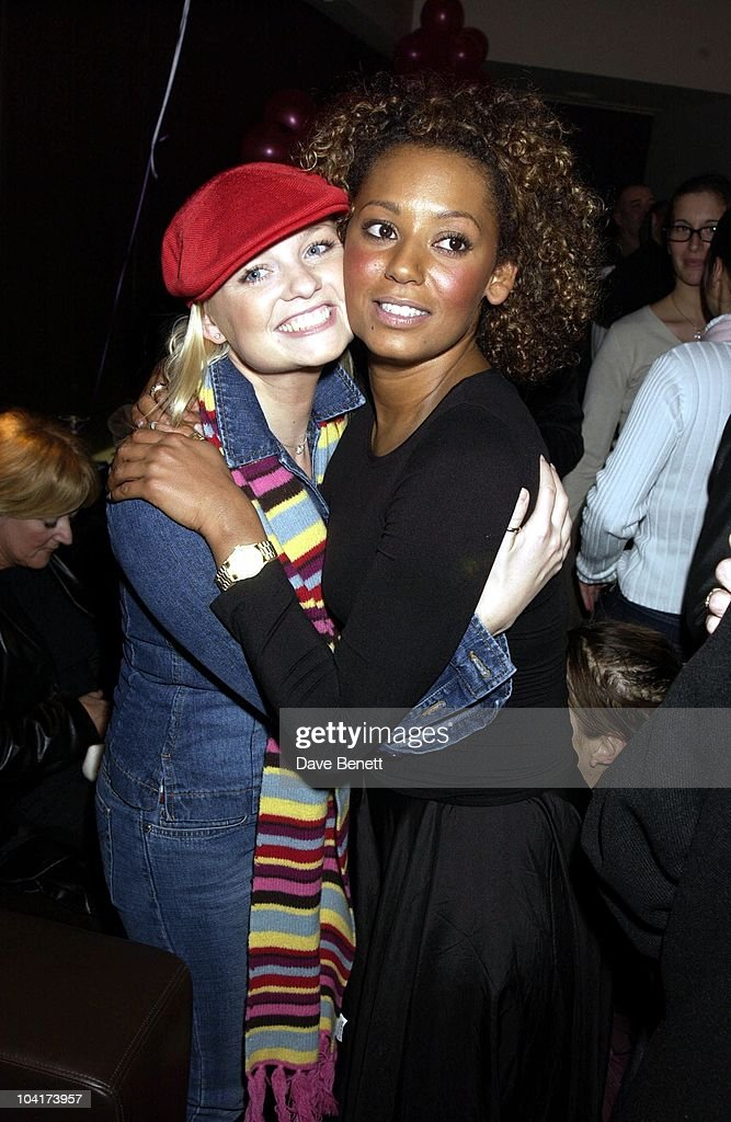Emma Bunton & Mel B, The New Cast For Vagina Monologues Celebrated Their First Night Indoors.at The West Street Hotel, London