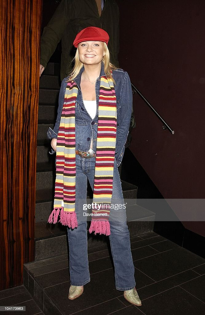 Emma Bunton, The New Cast For Vagina Monologues Celebrated Their First Night Indoors.at The West Street Hotel, London