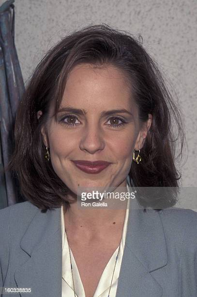Emma Caulfield attends Sixth Annual Project Robin Hood Benefit on November 4 1995 at the Pacific Coast Highway in Malibu California