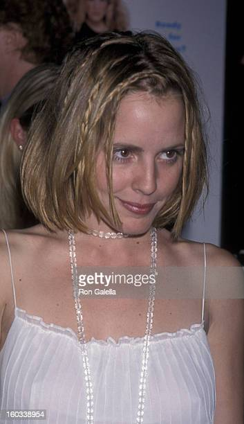 Emma Caulfield attends the premiere of 'Sex and the City' on June 1 2000 at the Director's Guild Theater in Hollywood California
