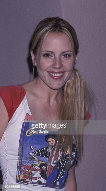 Emma Caulfield attends UPN TV Summer Press Tour on July 16 2001 at the Ritz Carlton Hotel in Pasadena California