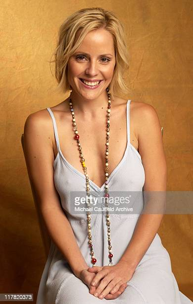 Emma Caulfield during 2003 Television Critics Association Portraits July 19 2003 at Hollywood Renaissance Hotel in Hollywood California United States