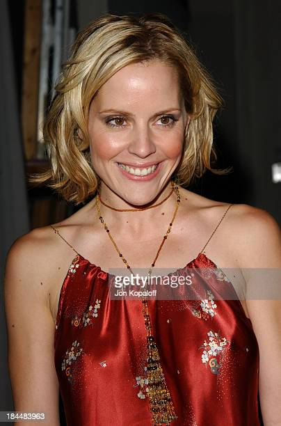 Emma Caulfield during 'Buffy The Vampire Slayer' Wrap Party at Miauhaus in Los Angeles California United States