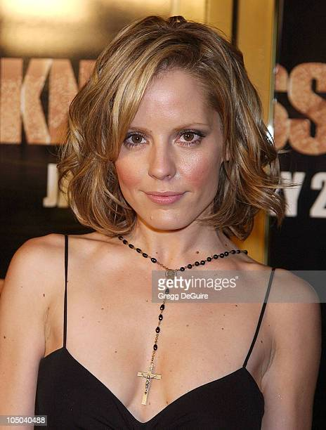 Emma Caulfield during 'Darkness Falls' Premiere Los Angeles at Mann National Theatre in Westwood California United States