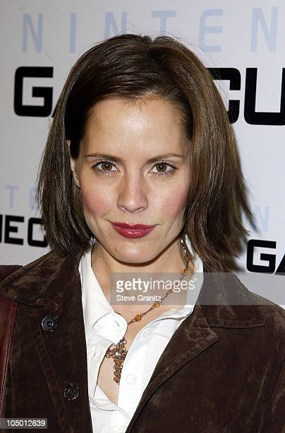 Emma Caulfield during Nintendo Goes Platinum Arrivals in Hollywood California United States
