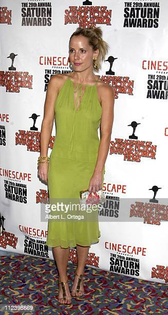 Emma Caulfield during The 29th Annual Saturn Awards By The Academy Of Science Fiction Fantasy And Horror Arrivals at Renaissance Hotel in Hollywood...