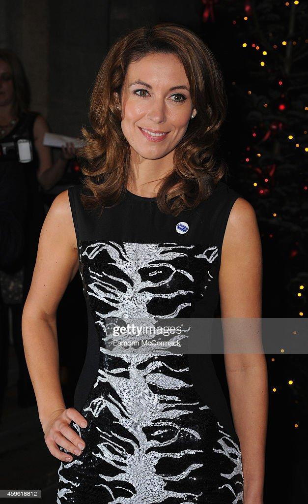 Emma Crosby attends the Daily Mirror RSPCA animal hero awards at The Grosvenor House Hotel on November 26 2014 in London England