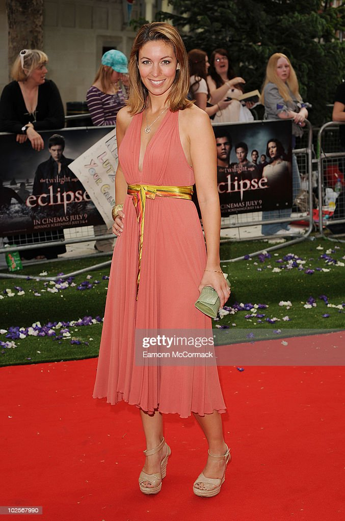Emma Crosby attends the Gala Premiere of The Twilight Saga Eclipse at Odeon Leicester Square on July 1 2010 in London England